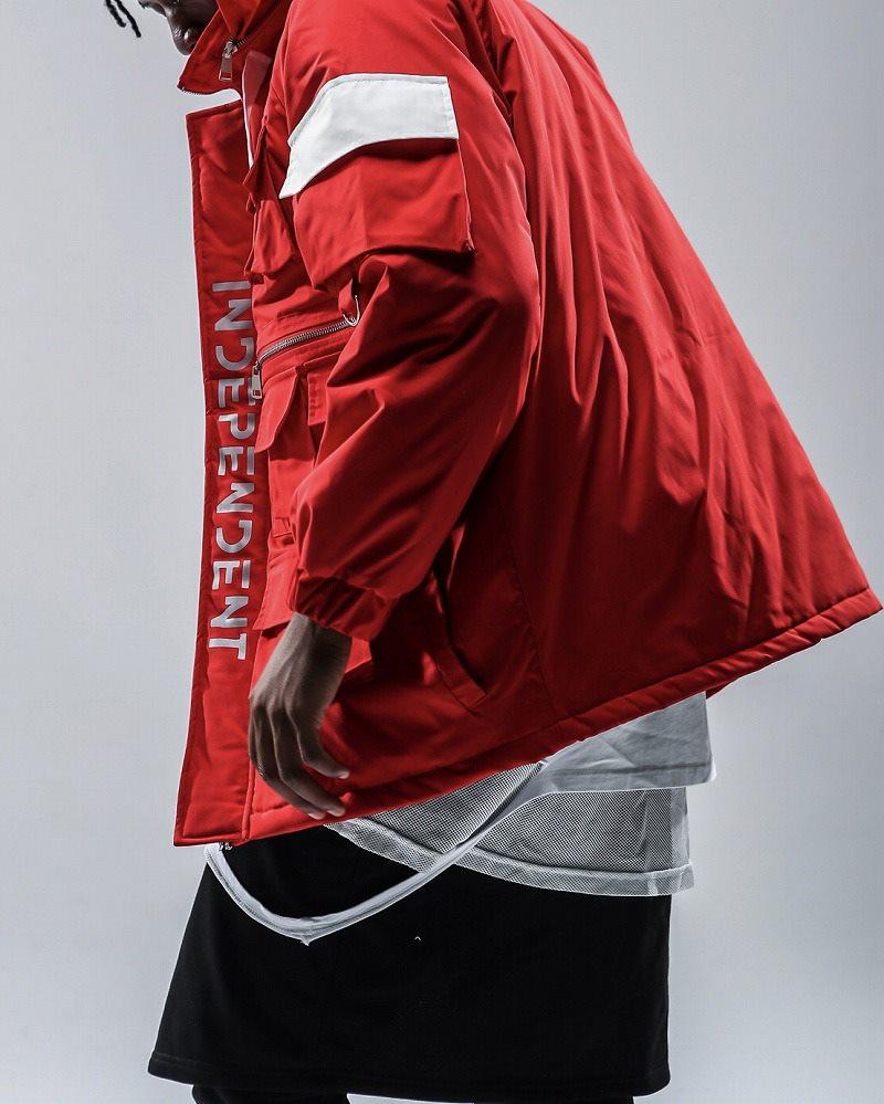 フルジップナイロンワークジャケットの画像4
